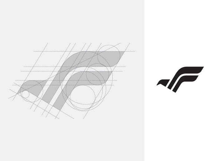 F-Bird - 38+ Excellent BEST Free Logo Grids Sample [year]