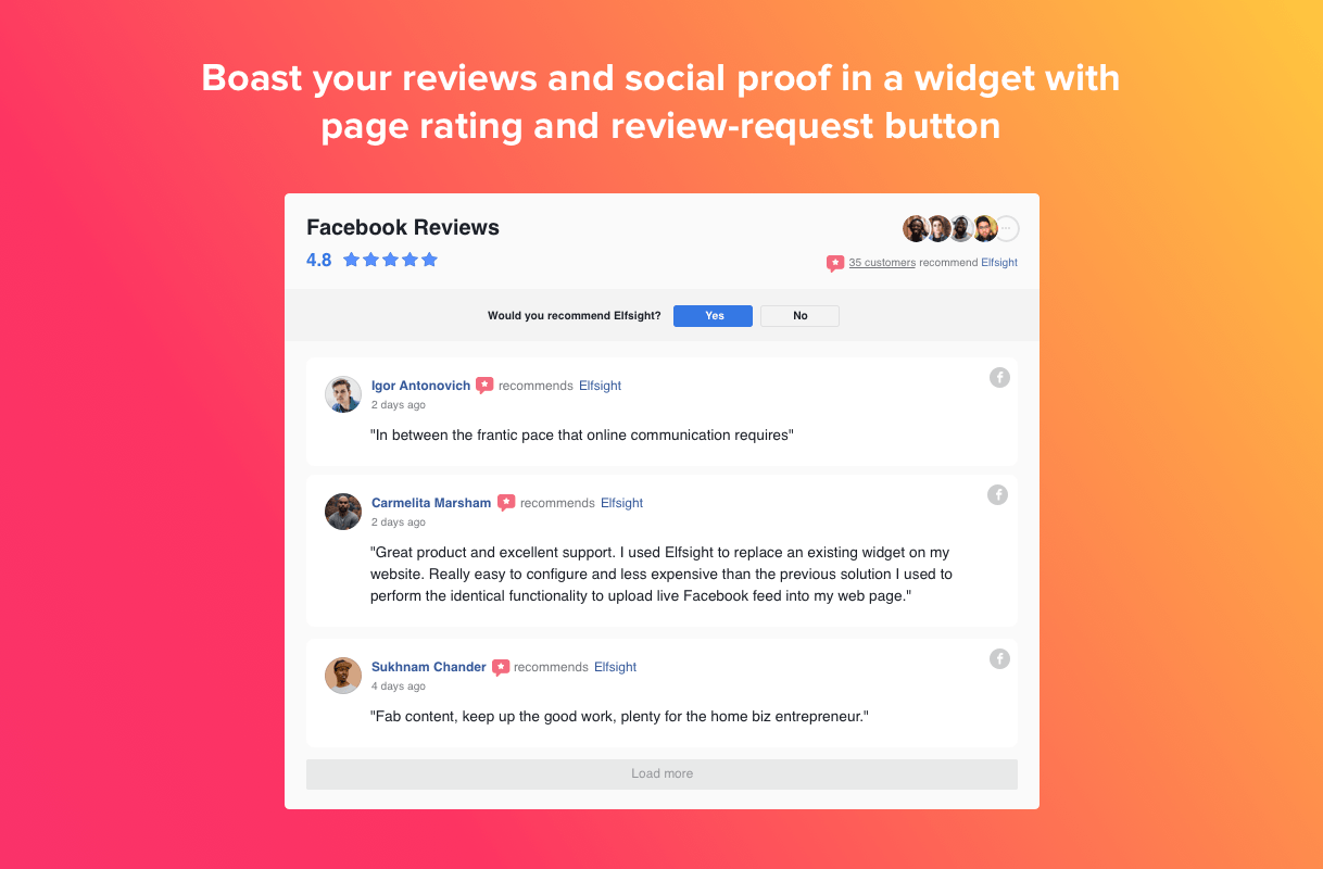 Facebook-Reviews - 28+ Important WordPress Review Plugins For Developer [year]