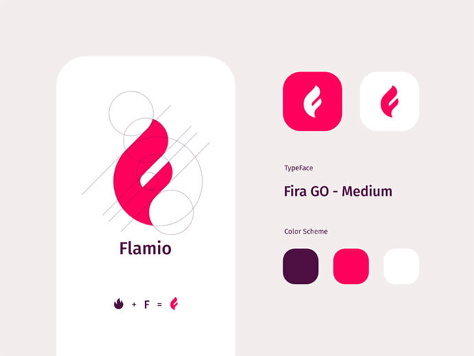 Flamio - 38+ Excellent BEST Free Logo Grids Sample [year]