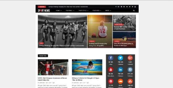 Flip-Mag - 42+ Amazing Sport Magazine WordPress Themes [year]