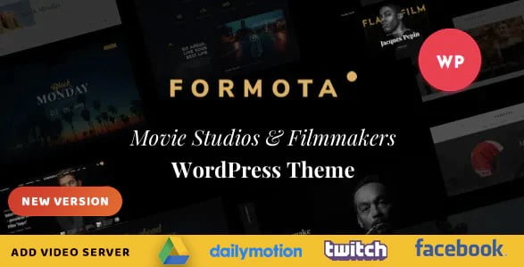 Formota-1 - 37+ Awesome Actors WordPress Themes [year]