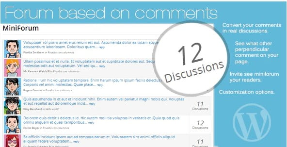 Forum-based - 35+ Top WordPress Comment Plugins [year]