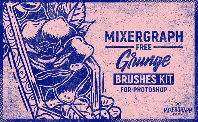 Free-Grunge-Brushes-Kit - 43+ Amazing BEST Free Photoshop Brush Sets [year]