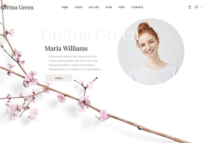 Gretna-Green - 35+ Nice WordPress Wedding Planner Themes [year]
