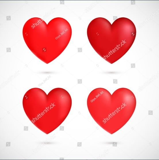 Heart-Vector-Images - 36+ Lovely Free Heart Vector Images From Shutterstock [year]