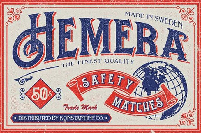 Hemera - 38+ Beautiful Fonts For Graphic Design [year]