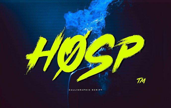 Hosp - 38+ Lovely BEST Free Graffiti Web Fonts [year]