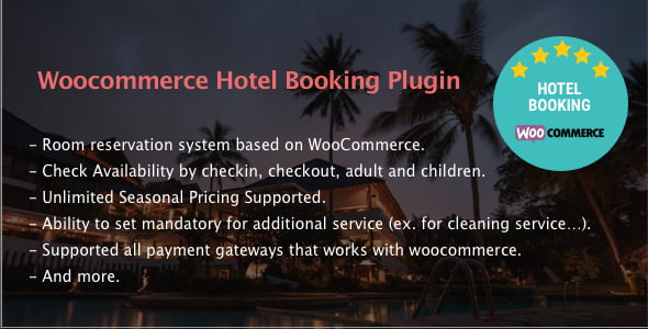 Hotel-Booking - 28+ 100% Free Booking & Scheduling WordPress Plugins [year]