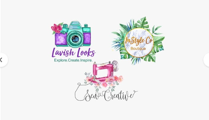 I-will-design-feminine-hand-drawn-watercolor-logo-for-you-By-stevanzivkovic - 35+ Top Rated Logo Design Fiverr Gigs [year]