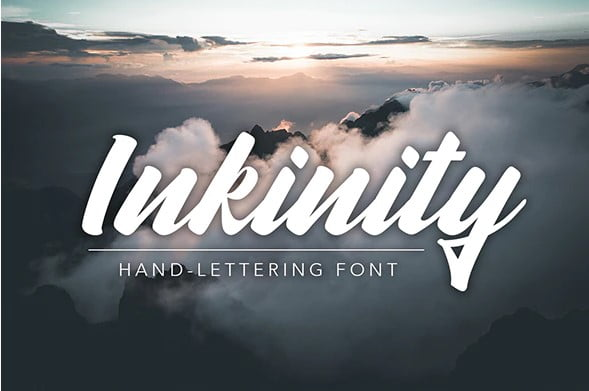 Inkinity - 53+ Nice T-shirt Design Hand Lettering Fonts [year]