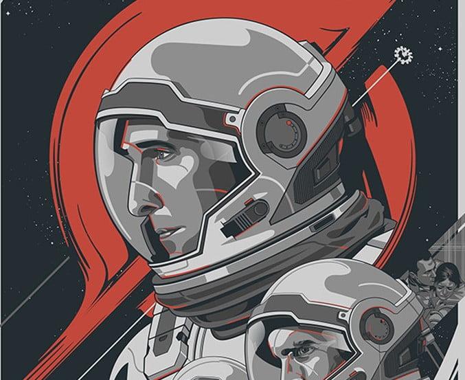 Interstellar - 39+ Best BEST Free Retro & Vintage Movie Design [year]