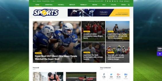 JNews-1 - 42+ Amazing Sport Magazine WordPress Themes [year]