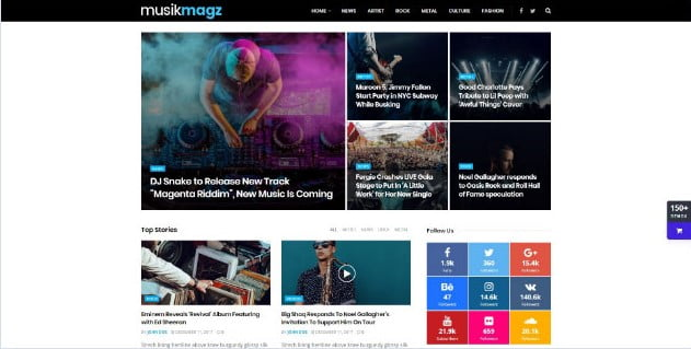 JNews - 33+ Awesome Music Blog Responsive WordPress Themes [year]