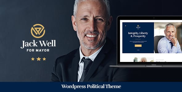 Jack-Well - 35+ Awesome WordPress Government Themes [year]