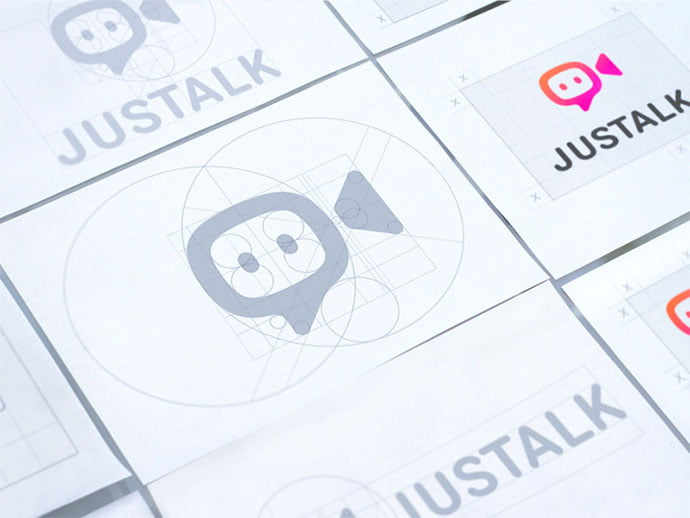 Justalk - 38+ Excellent BEST Free Logo Grids Sample [year]
