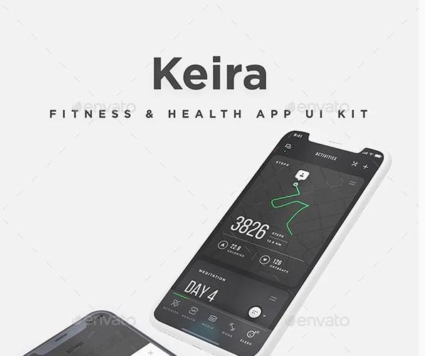 Keira-UI-Kit - 38+ Nice BEST Free CSS Device Mockups [year]