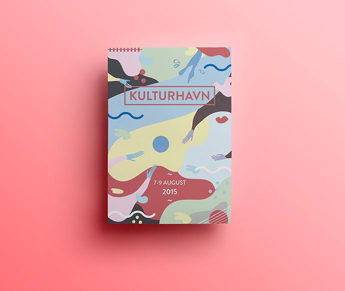 Kulturhavn - 38+ Awesome BEST Free Organic Shapes Poster Design [year]