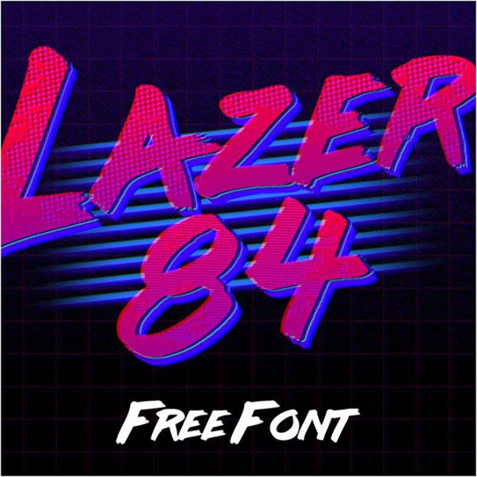 LAZER - 38+ Lovely BEST Free Graffiti Web Fonts [year]