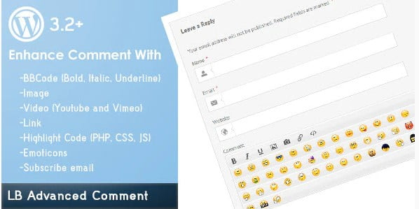 LB-Advanced - 35+ Top WordPress Comment Plugins [year]