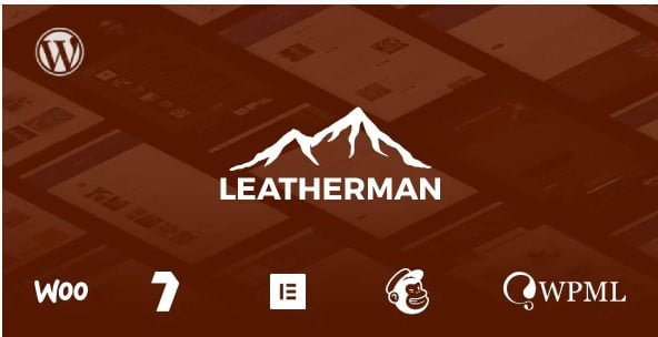 Leatherman - 33+ Lovely Outdoor Gear WordPress Themes [year]