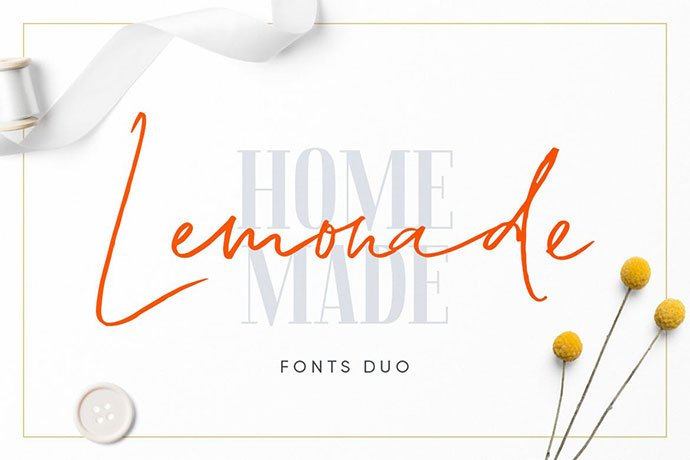 Lemonade - 38+ Attractive Handwriting & Signature Fonts [year]