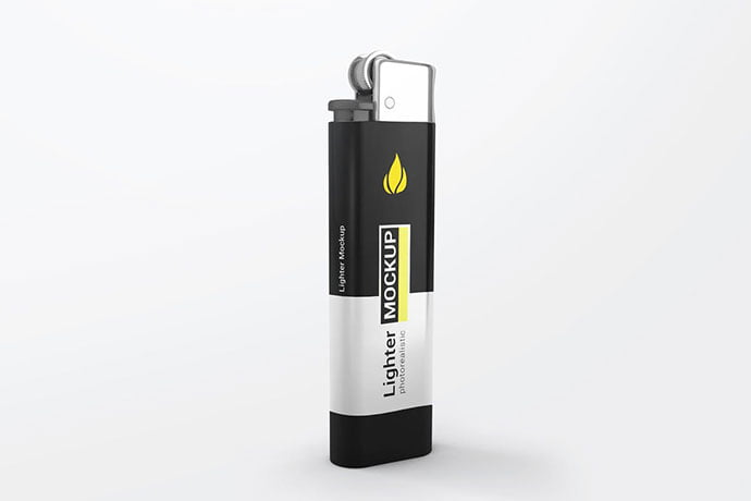Lighter-Mockups - 38+ Nice PSD Mockups for Your Amazing Projects [year]