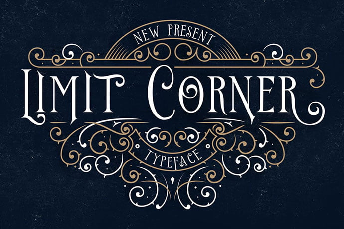 Limit-Corner - 38+ Beautiful Fonts For Graphic Design [year]