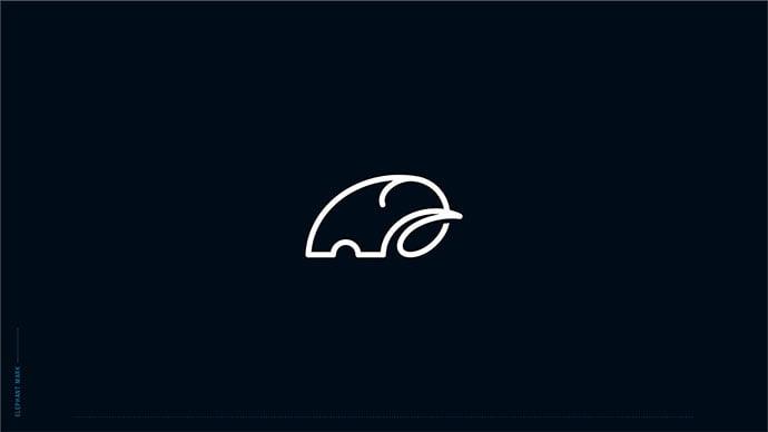 Line-Art - 43+ Top BEST Free Animal Logo Designs Example [year]