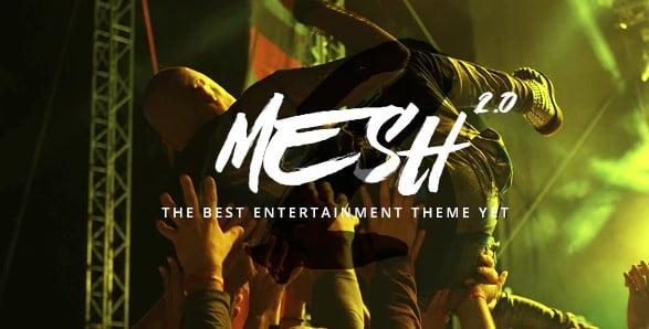 MESH - 36+ Amazing WordPress Radio Station Themes [year]