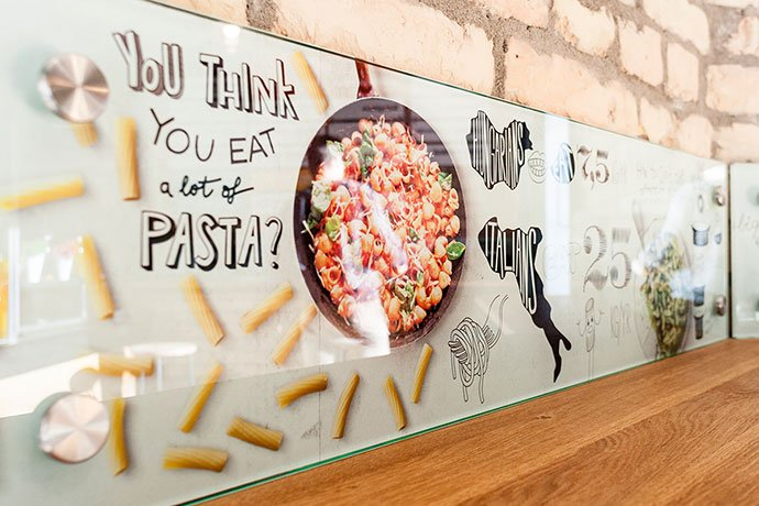 Made-In-Pasta - 43+ BEST Free Awesome Infographic Designs IDEA [year]