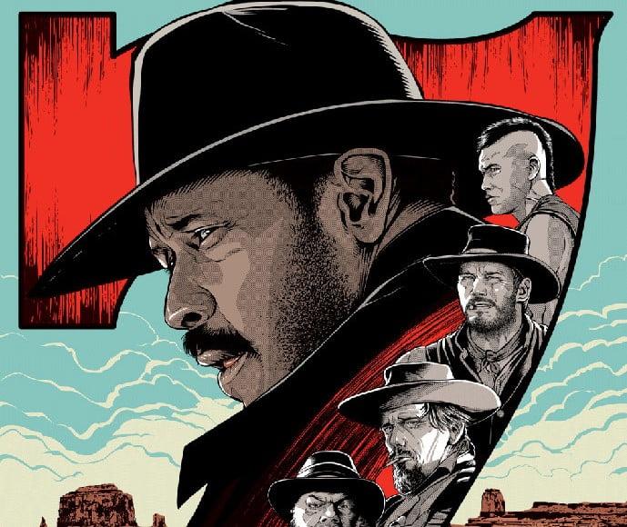 Magnificent-Seven - 39+ Best BEST Free Retro & Vintage Movie Design [year]