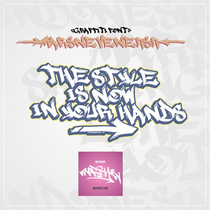 Marsneveneksk - 38+ Lovely BEST Free Graffiti Web Fonts [year]