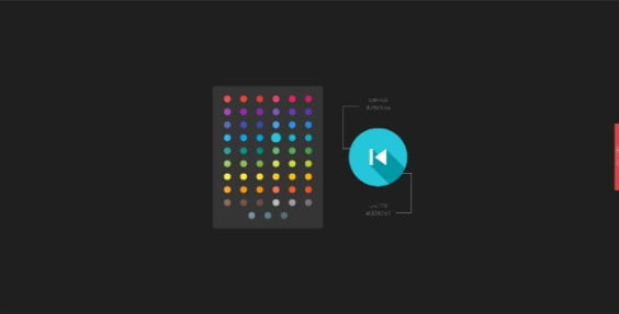 Material-1 - 38+ Awesome 100% Free Web Color Picker Designs [year]
