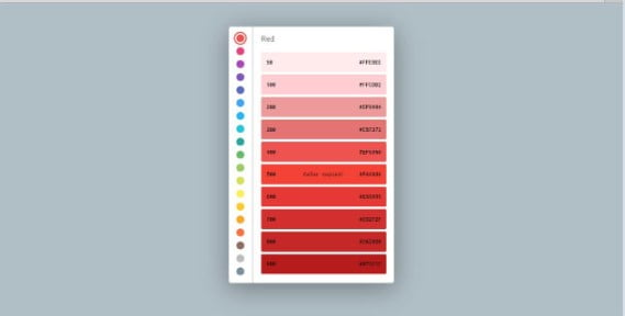 Material-Color-Picker - 38+ Awesome 100% Free Web Color Picker Designs [year]