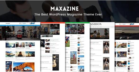 Maxazine - 42+ Amazing Sport Magazine WordPress Themes [year]