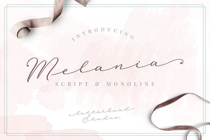 Melania-Script - 38+ Attractive Handwriting & Signature Fonts [year]