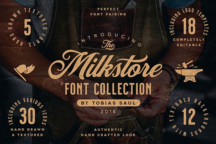 Milkstore - 53+ Nice T-shirt Design Hand Lettering Fonts [year]