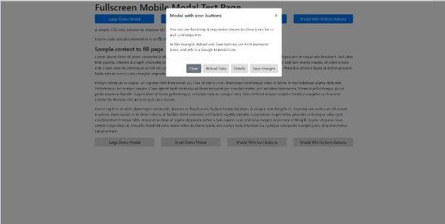 Mobile-FullScreen - 38+ Amazing 100% Free Bootstrap Web UI KIT [year]