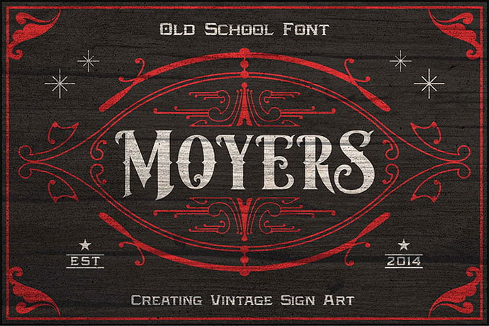 Moyers - 38+ Beautiful Fonts For Graphic Design [year]