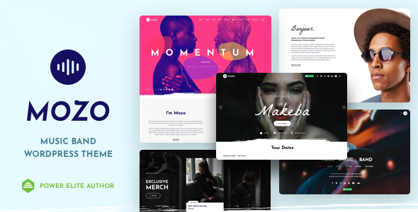 Mozo - 33+ Awesome Music Blog Responsive WordPress Themes [year]
