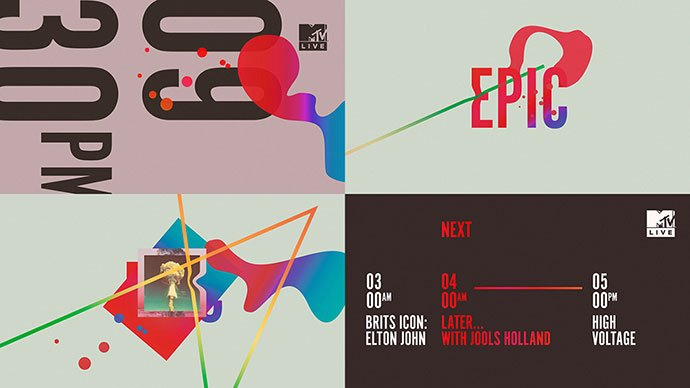 Mtv-Live - 38+ Awesome BEST Free Organic Shapes Poster Design [year]