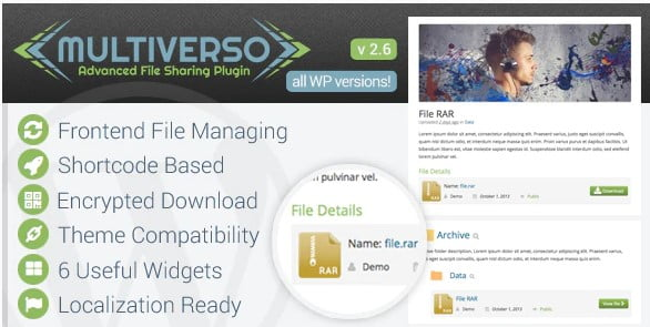 Multiverso - 33+ Important BEST Free File Upload Script Libraries [year]