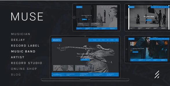 Muse-1 - 36+ Amazing WordPress Radio Station Themes [year]