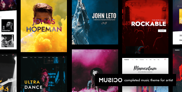 Music-Blog-WordPress-Themes - 33+ Awesome Music Blog Responsive WordPress Themes [year]