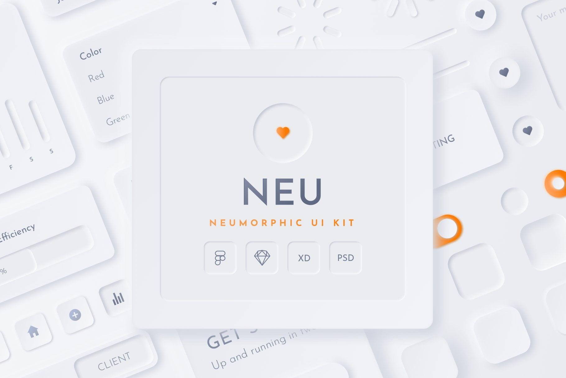Neomorphic-UI-Design - 38+ BEST Free CSS Neomorphic UI Design IDEA [year]