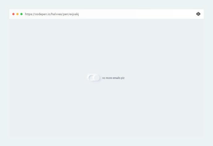Neumorphic-Toggle - 38+ BEST Free CSS Neomorphic UI Design IDEA [year]