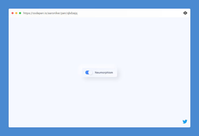 Neumorphism - 38+ BEST Free CSS Neomorphic UI Design IDEA [year]