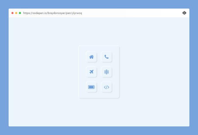 Neuomorphic - 38+ BEST Free CSS Neomorphic UI Design IDEA [year]