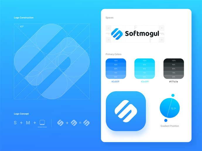 New-Brand-Softmogul - 38+ Excellent BEST Free Logo Grids Sample [year]