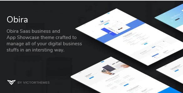 Obira - 33+ Responsive WordPress SAAS Themes [year]